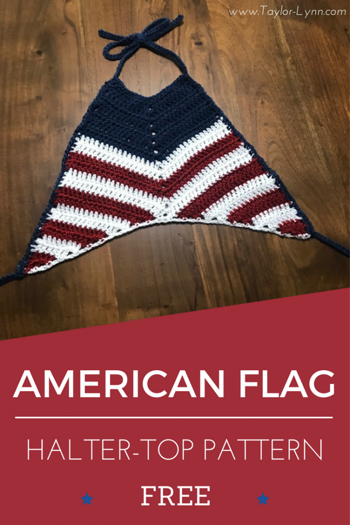 American Flag Halter top Cover photo