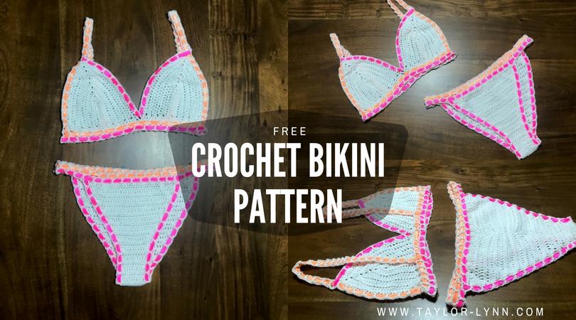 Simply Cute Crochet Bikini Top Pattern Free Taylor Lynn