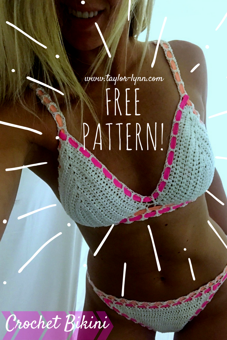 Free Crochet Bikini Pattern New Design