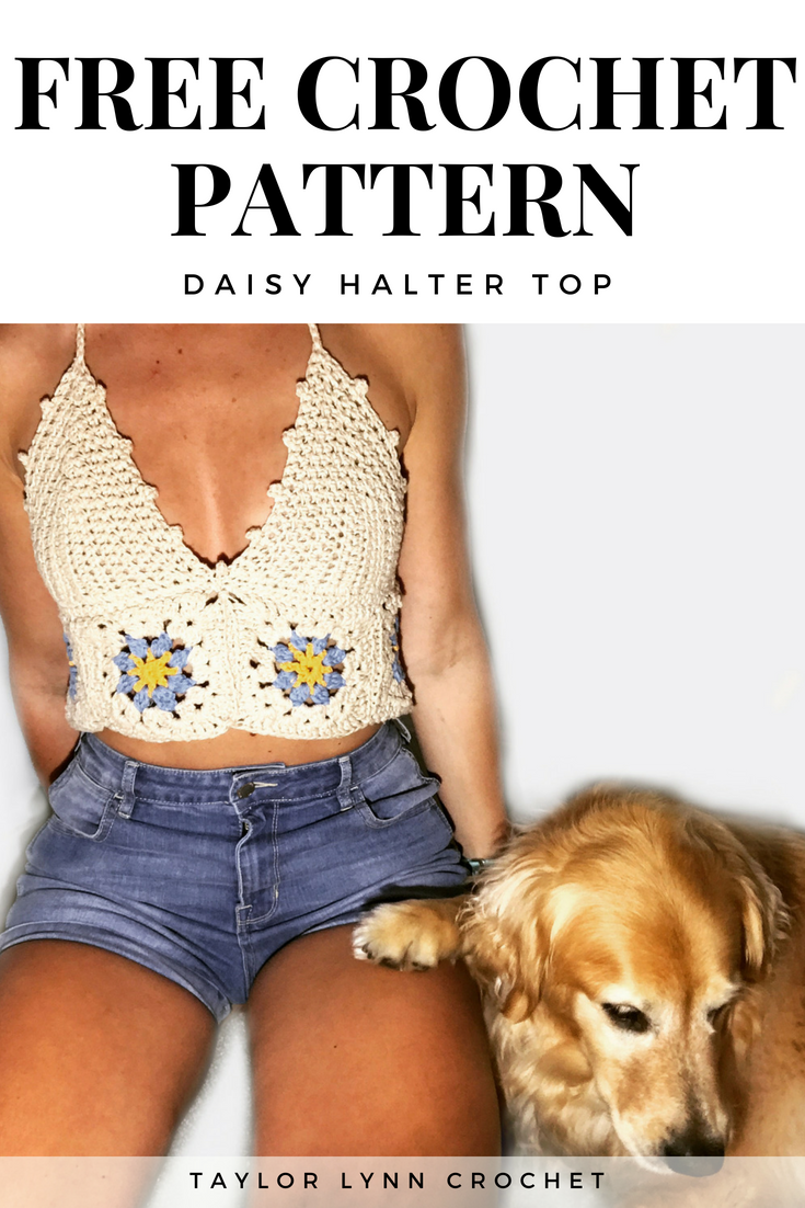 crochet top, crochet pattern, flower crochet, flower top