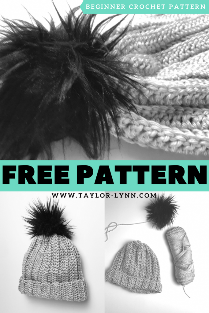 Beginner Crochet Hat Free Pattern