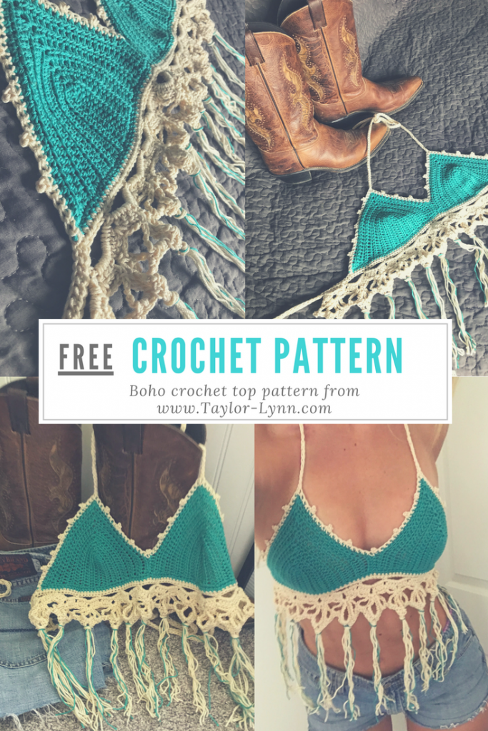bikini top, bikini, crochet, crochet bikini, knit, swim, swimwear, crochet swim, bikini pattern, crochet bikni pattern, crochet bikini tutorial, crochet tutorial, how to, DIY, DIY bikini, Beginner Crochet tutorials, beginner crochet projects, crochet top, bando, bando pattern. bando crochet top, crochet bando, crochet bando patternboho, bohemian, boho top, crochet boho top, boho crochet top, crochet top, boho, festival,