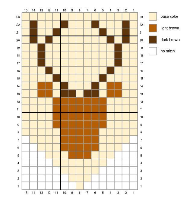 c2c, crochet, corner to corner, corner to corner crochet, c2c crochet, c2c deer pattern, crochet pattern, crochet deer pattern
