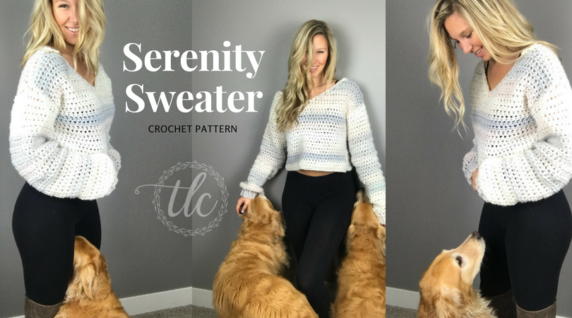 serenity sweater, cozy crochet sweater, crochet sweater