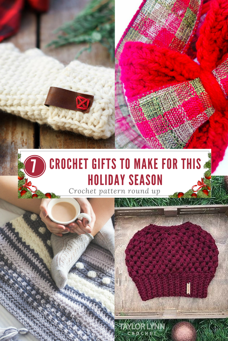 7 Crochet Gifts to Give for the Holidays - Taylor Lynn