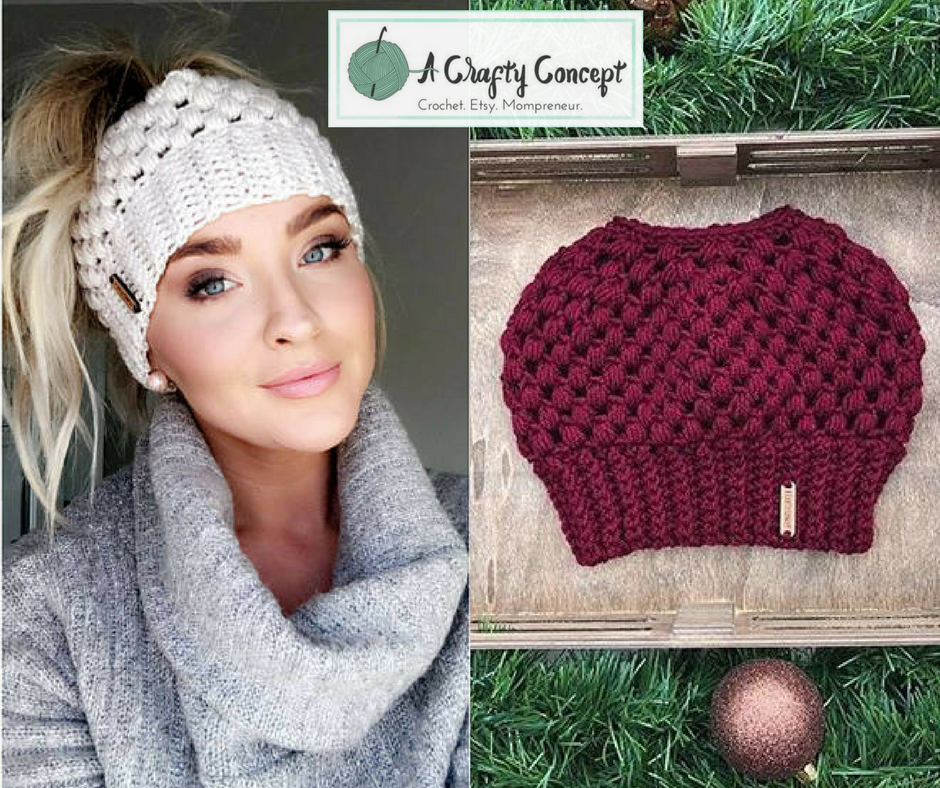 gifts, handmade, handmade gift, handmade gifts, crochet, crochet gifts, crochet gift, bun beanie, hat, crochet hat