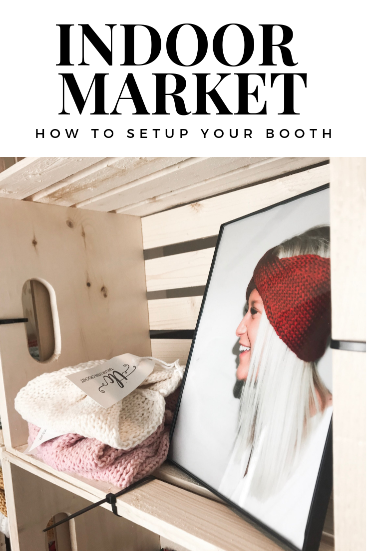 indoor market setup, market setup, craft display, craft setup, craft booth, craft fair, craft fair booth, knitwear, crochet