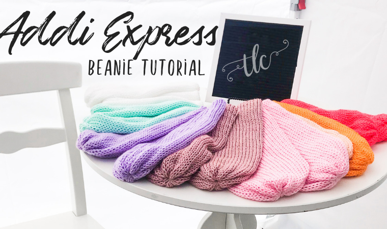 addi, addi express, beanie, knit beanie, knit hat, knit hat tutorial, knit hat pattern, addi express tutorial, addi hat, addi express hat, addi express king, addi express pattern