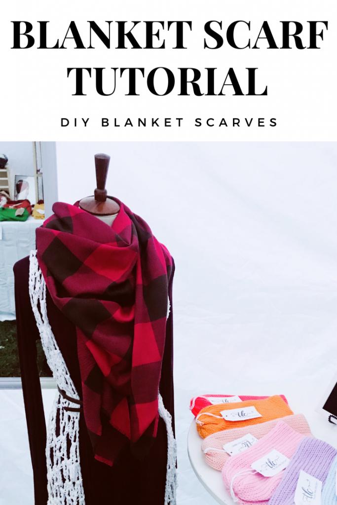 Diy Blanket Scarf
