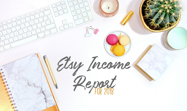 etsy income report, income report, etsy income, maker income, making money on etsy, 2018 Etsy income, Etsy revenue, maker revenue, revenue