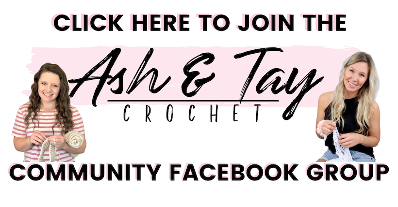 ash and tay, ash & Tay, ash and tay crochet, aat, community, crochet community. community over competition