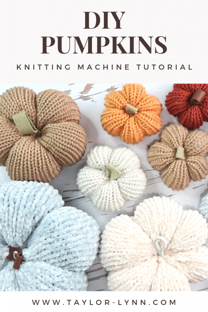 pumpkin, pumpkins, diy pumpkin, knitting machine, addi, addi machine, addi tutorial, addi pattern, knitting machine tutorial, knitting, knitting pumpkin, addi pumpkin, addi machine pumpkin, knitting machine pumpkin, crochet pumpkin, Taylor Lynn Crochet, taylor lynn, taylor lynn crafts